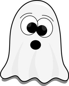 Halloween ghost pictures clipart vector black and white download Cute Halloween Ghost Clipart vector black and white download