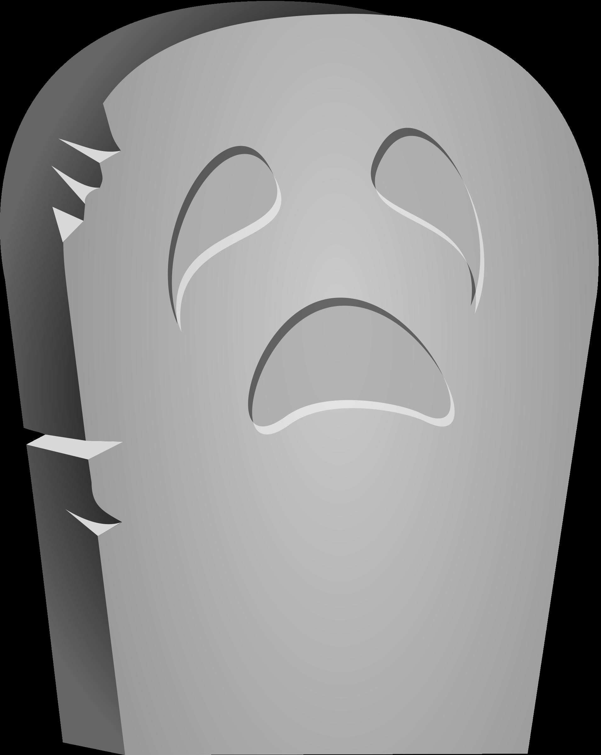 Halloween tombstones sayings clipart clip royalty free stock Clipart - Halloween Tombstone Face clip royalty free stock