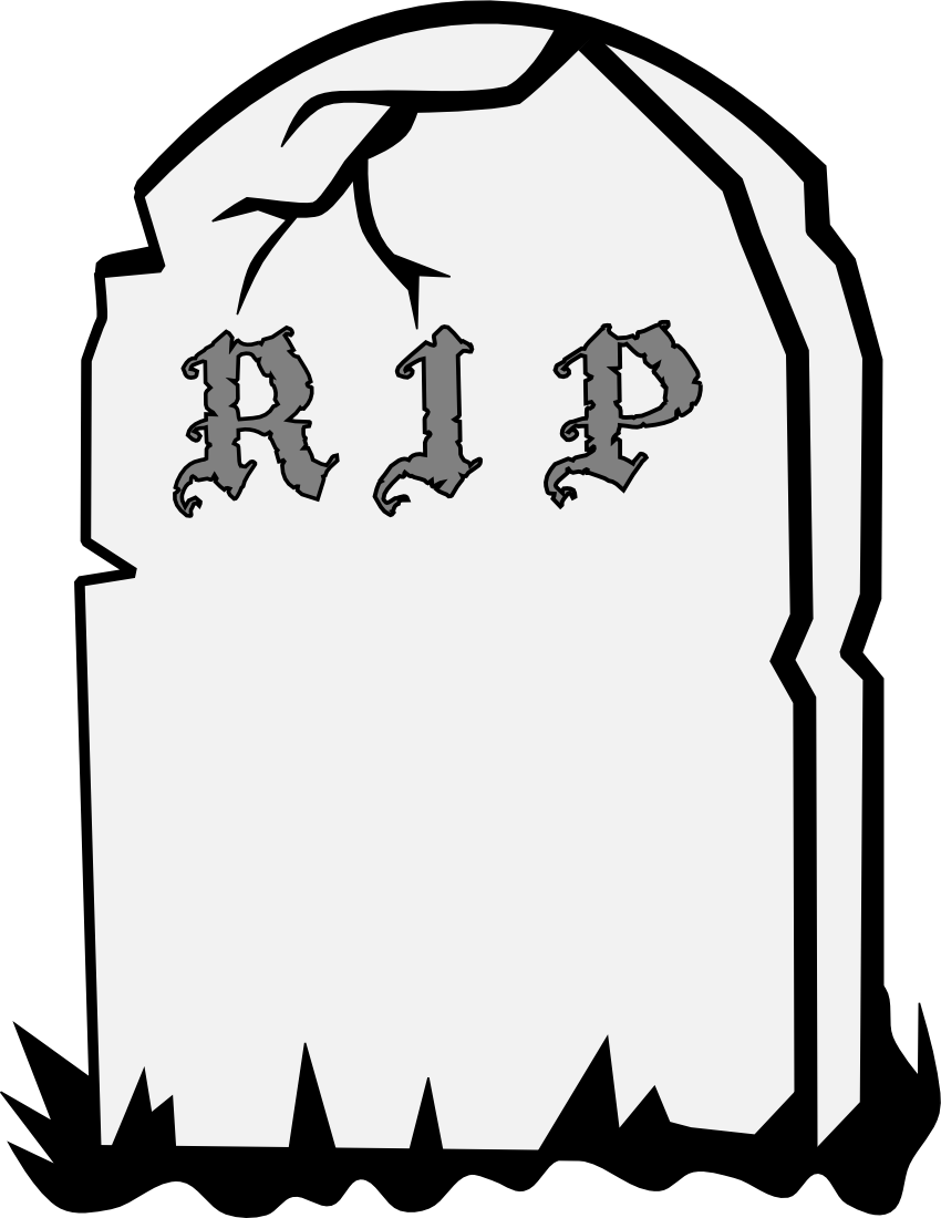 Halloween gravestone clipart picture gravestone RIP page - /page_frames/holiday/Halloween/Halloween_4 ... picture