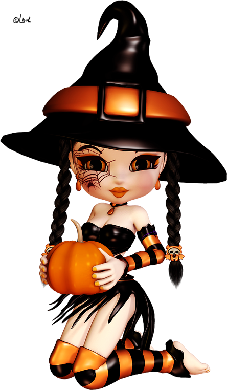 Kid friendly halloween character clipart banner download bruxas - Pesquisa Google | Witches | Pinterest | Witches, Dolls and ... banner download