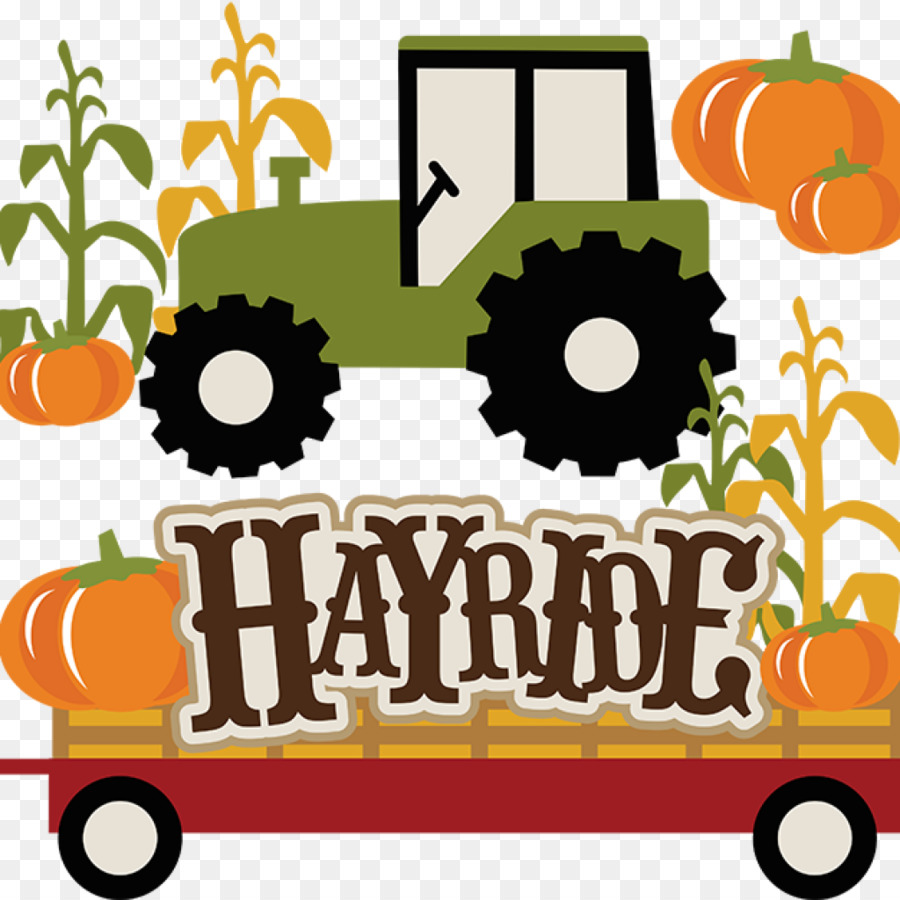 Halloween hayride clipart svg freeuse Halloween Orange Background png download - 1024*1024 - Free ... svg freeuse