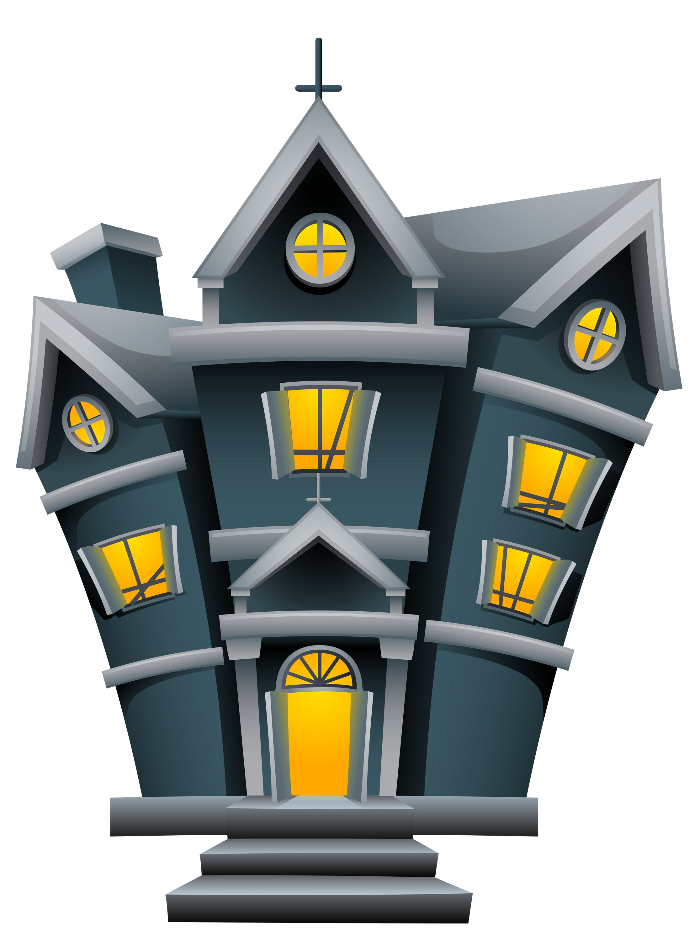 Halloween house clipart graphic free library Halloween House PNG Picture | Gallery Yopriceville - High-Quality ... graphic free library