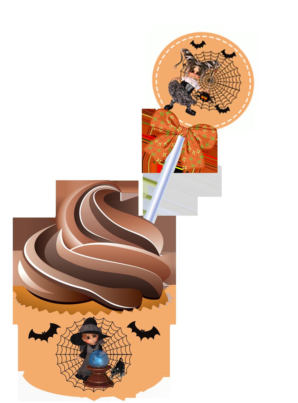 Halloween ice cream clipart jpg freeuse download Mini Kit Halloween - Convites Digitais Simples | halloween ... jpg freeuse download