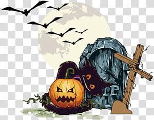 Halloween jack o lantern bride and groom clipart svg royalty free download Cat Pumpkin Halloween Jack-o-lantern , pumpkin transparent ... svg royalty free download
