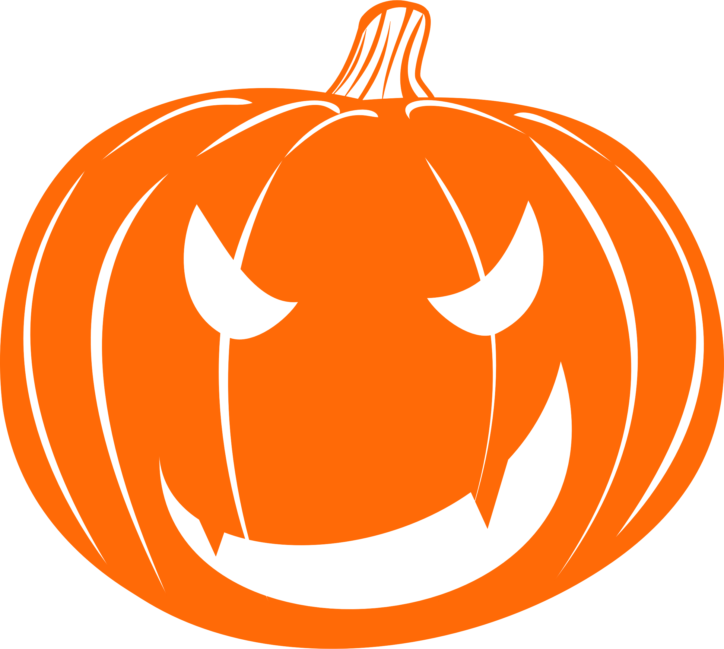 Halloween jack o lantern clipart graphic transparent stock Clipart - Vampire Jack-o'-lantern graphic transparent stock
