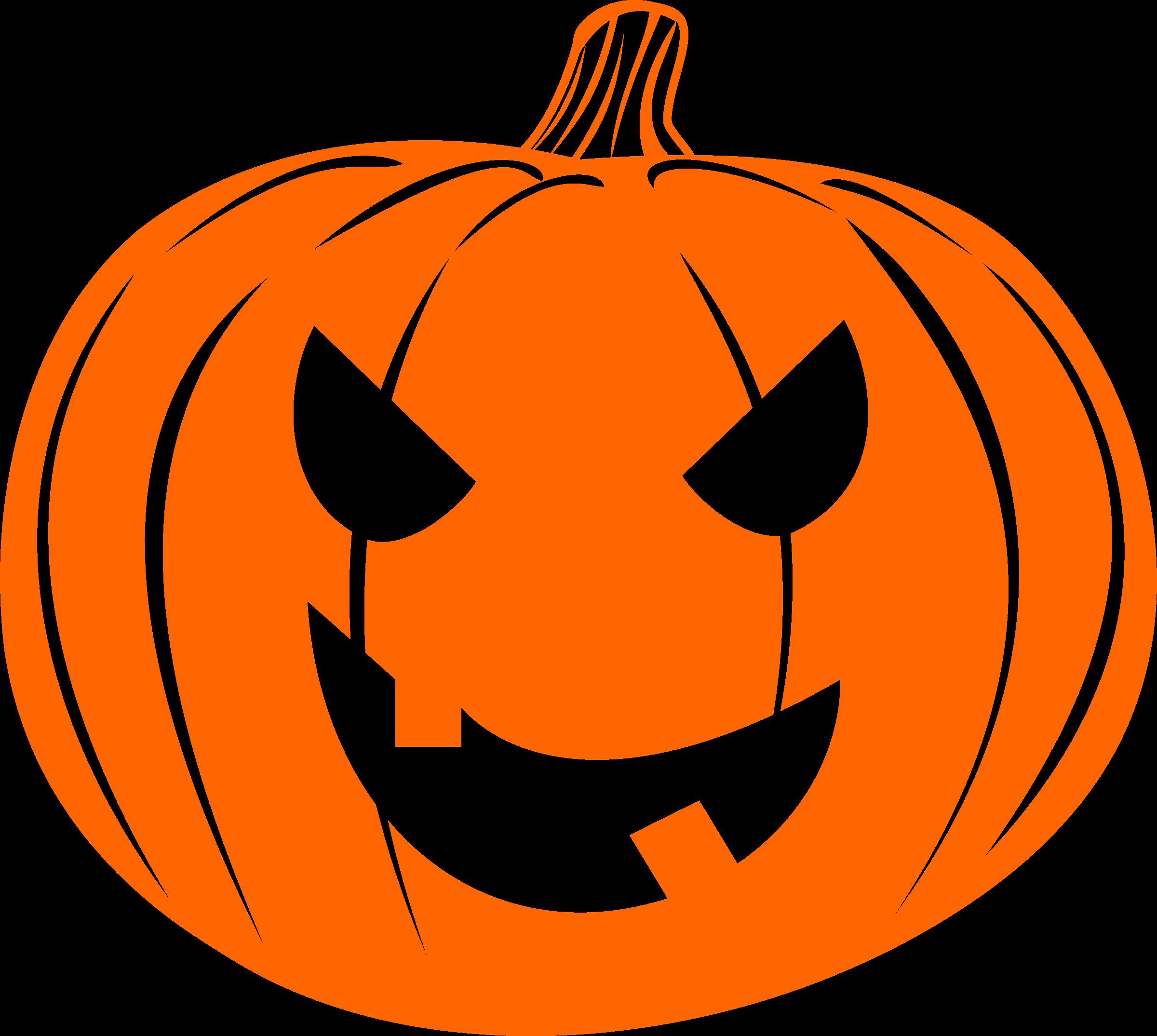 Halloween jack o lantern clipart vector free stock Clipart - Jack-o'-lantern orange vector free stock