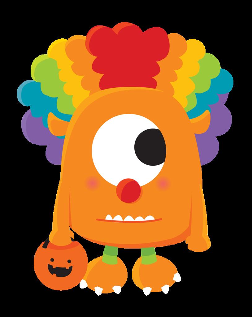 Halloween snack clipart clip art freeuse ZWD-Halloween-Monsters-06.png | Pinterest | Bottle cap images, Clip ... clip art freeuse