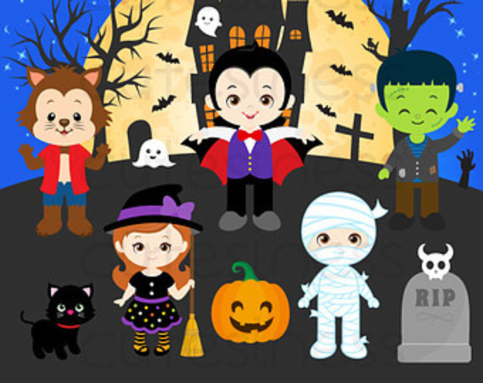 Halloween kids trick or treat free clipart banner transparent download Halloween, Cartoon, Art, Illustration, Design, Product, Graphics ... banner transparent download