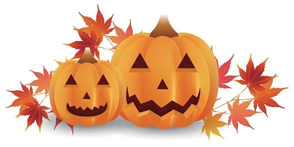 Halloween leaves clipart clip art freeuse Halloween Pumpkin Autumn Leaves Icon premium clipart - ClipartLogo.com clip art freeuse