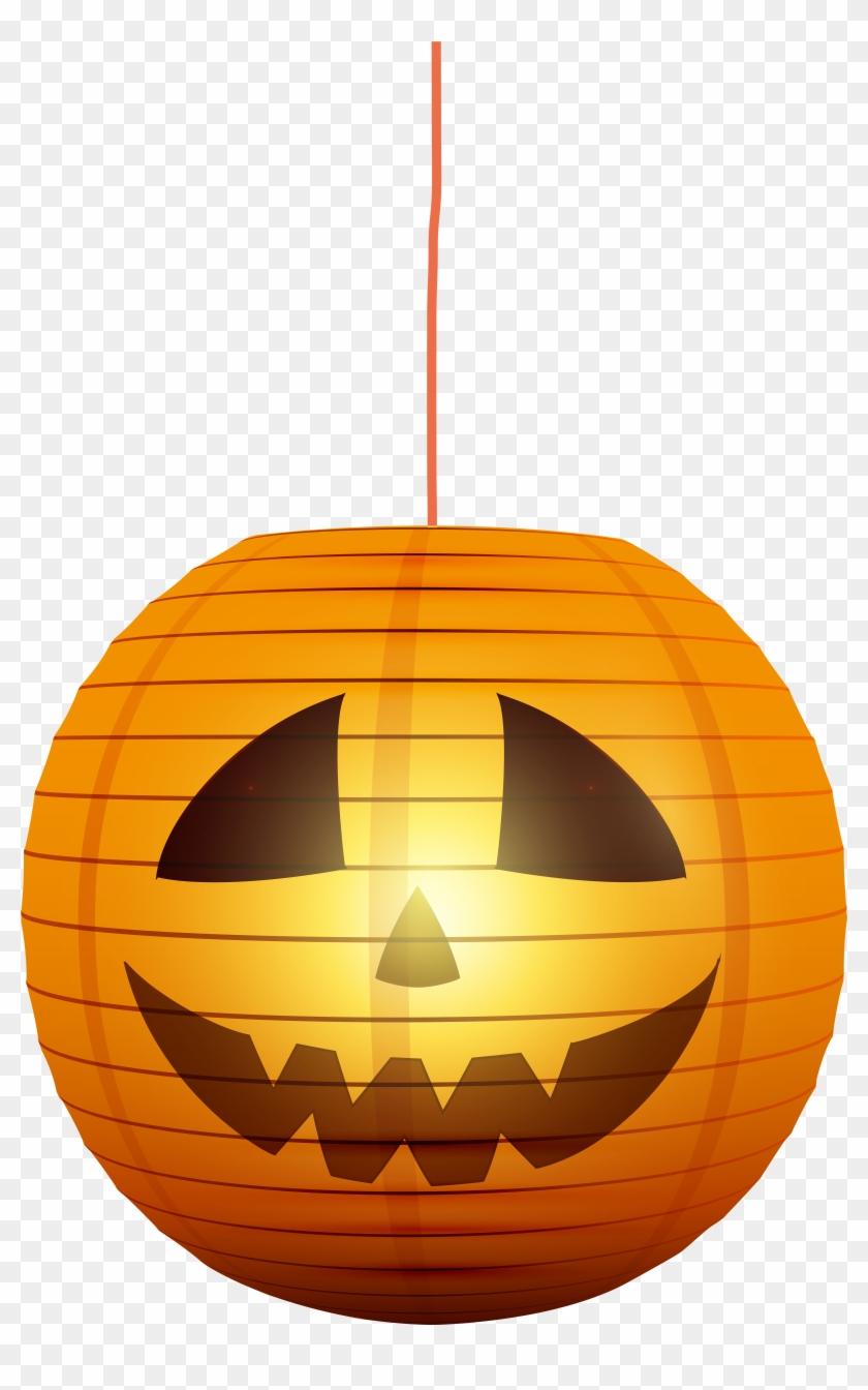 Halloween lights clipart freeuse library Halloween Pumpkin Lantern Png Transparent Clip Art - Transparent ... freeuse library