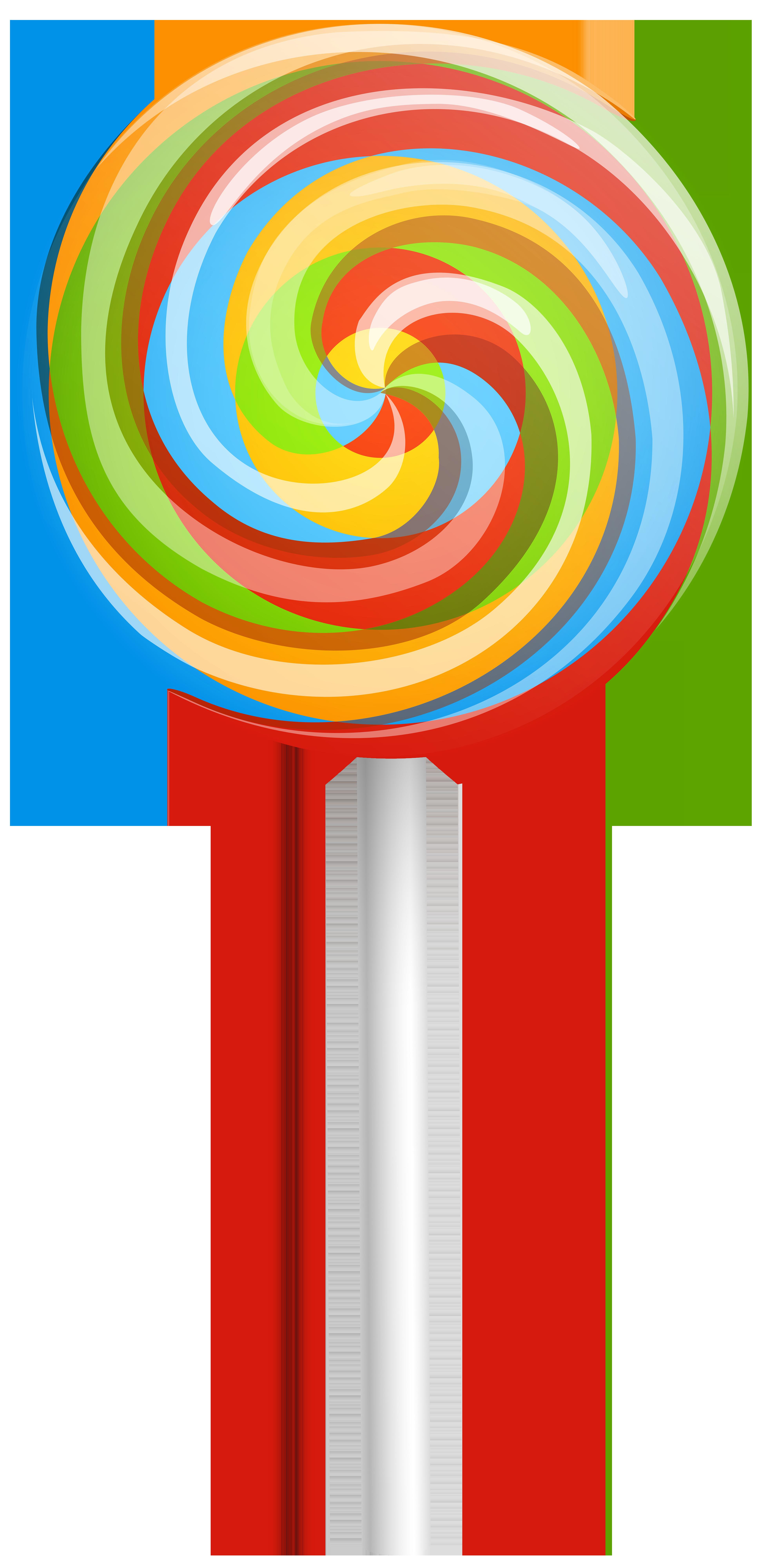 Halloween lollipops clipart image free stock Rainbow Swirl Lollipop PNG Clip Art Image | Gallery Yopriceville ... image free stock