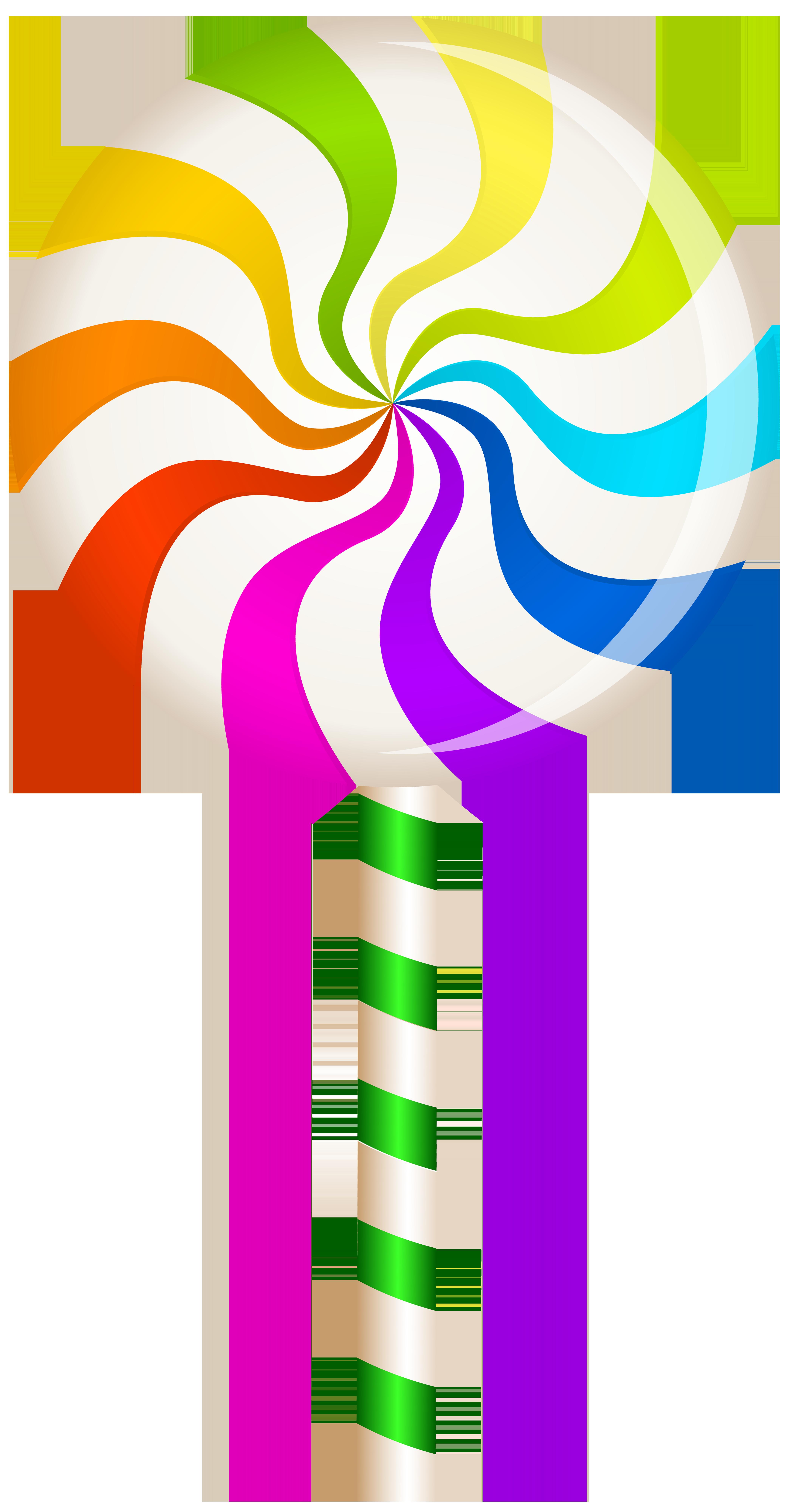 Halloween lollipops clipart clip stock Multicolor Swirl Lollipop PNG Clip Art Image | Gallery Yopriceville ... clip stock