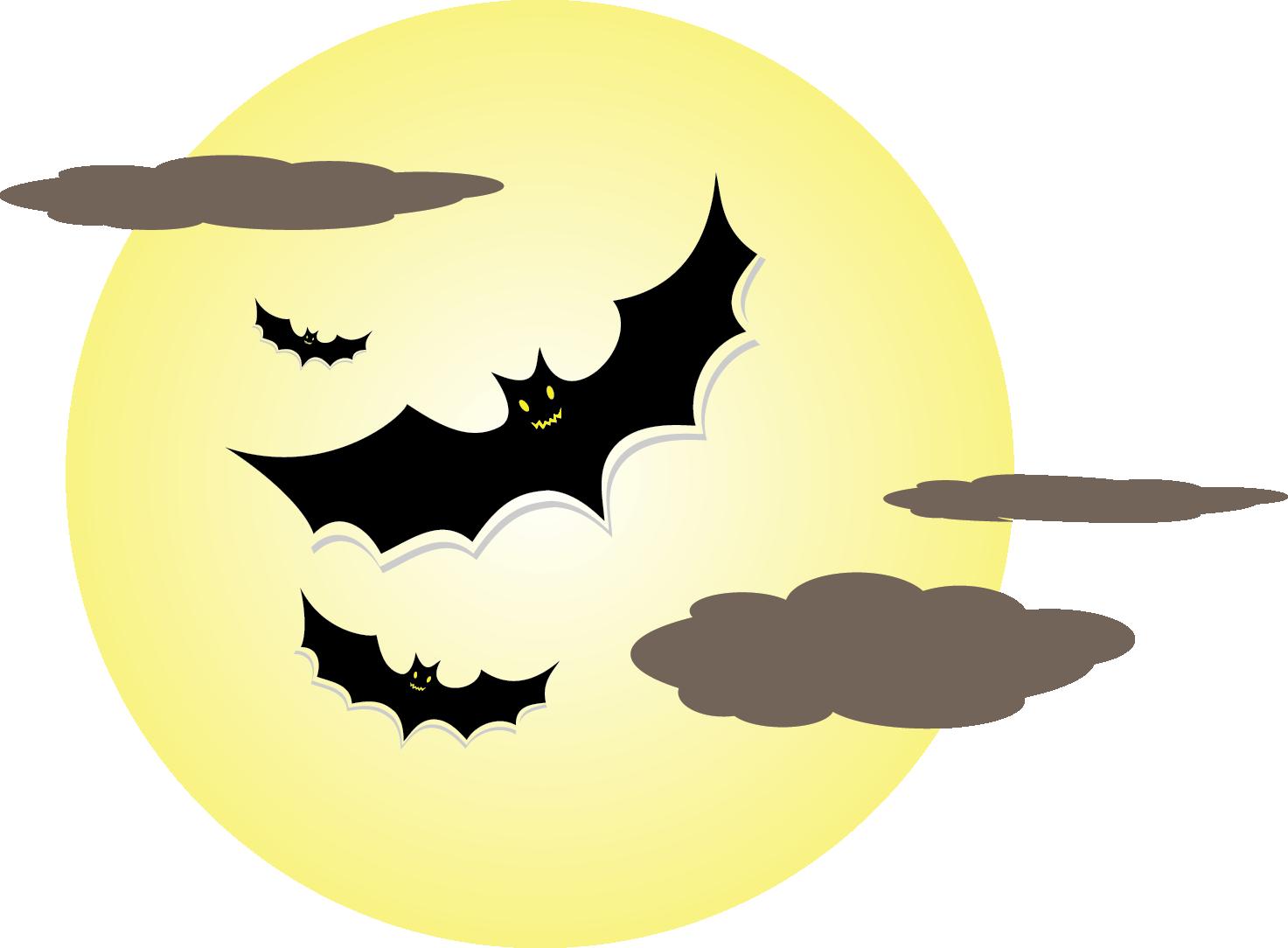 Halloween moon clipart vector freeuse library 28+ Collection of Halloween Moon Clipart | High quality, free ... vector freeuse library