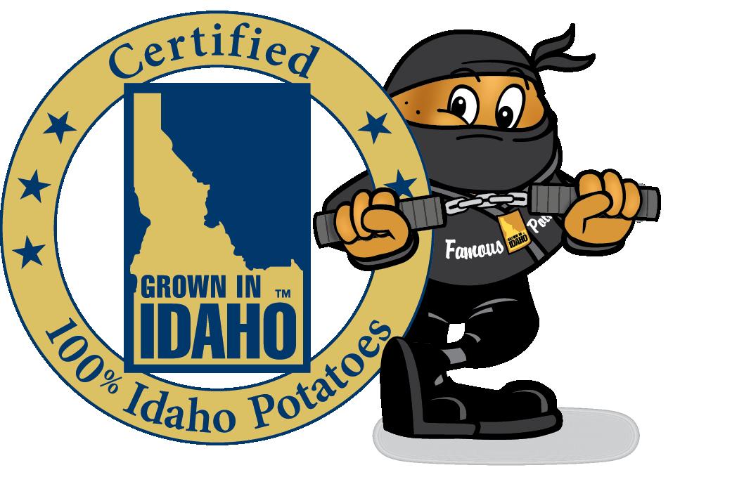 Halloween ninja clipart clip black and white library Idaho Potato Commission clip black and white library
