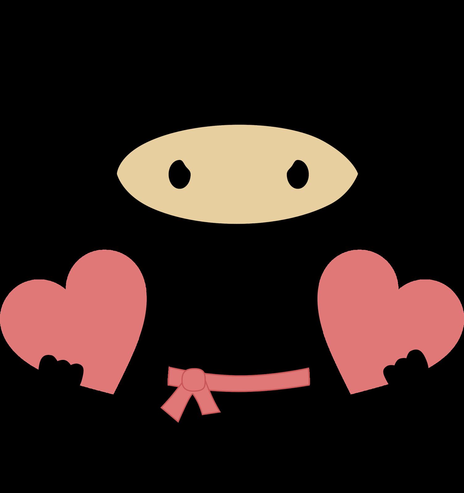 Halloween ninja clipart clip art download Ninja in Love Clipart. - Oh My Fiesta! for Geeks clip art download