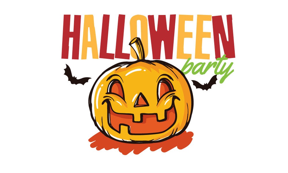 Halloween party at a park clipart vector library library Halloween Party | UCP vector library library