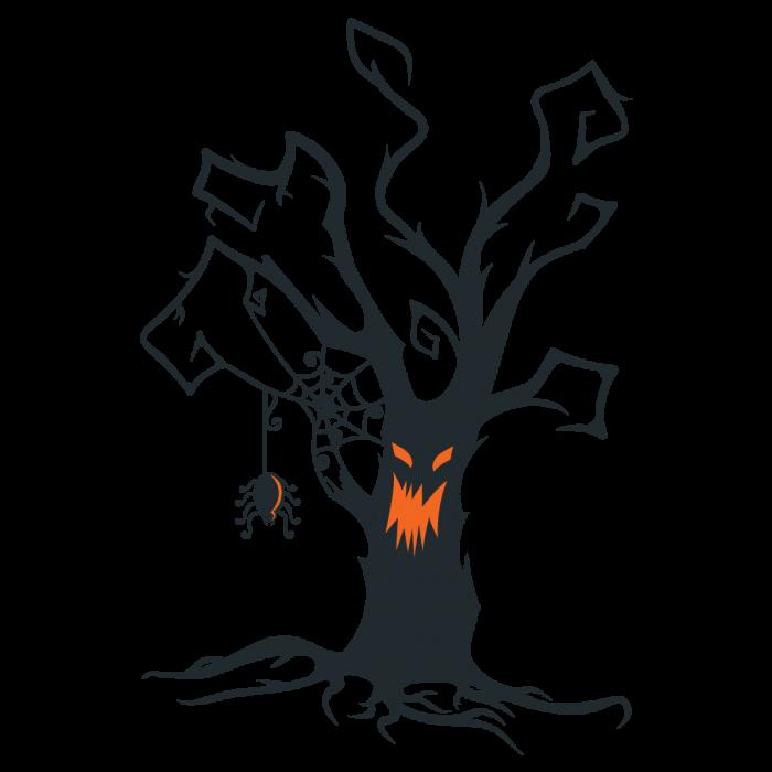 Halloween tattoo clipart jpg free Gumtoo Designer Temporary Tattoos - Halloween Creepy Tree jpg free