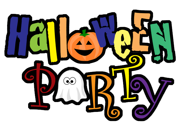 Halloween party clipart kids jpg black and white library Halloween Party Clipart 10 - 300 X 174 | carwad.net jpg black and white library
