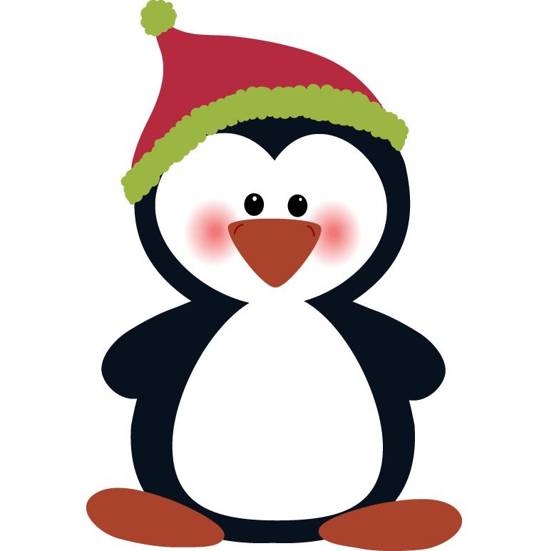 Halloween penguin clipart png black and white stock Penguin Clip Art For Christmas – Fun for Christmas png black and white stock