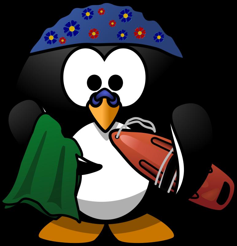 Halloween penguin clipart clip art royalty free Funny Swimming Clipart clip art royalty free