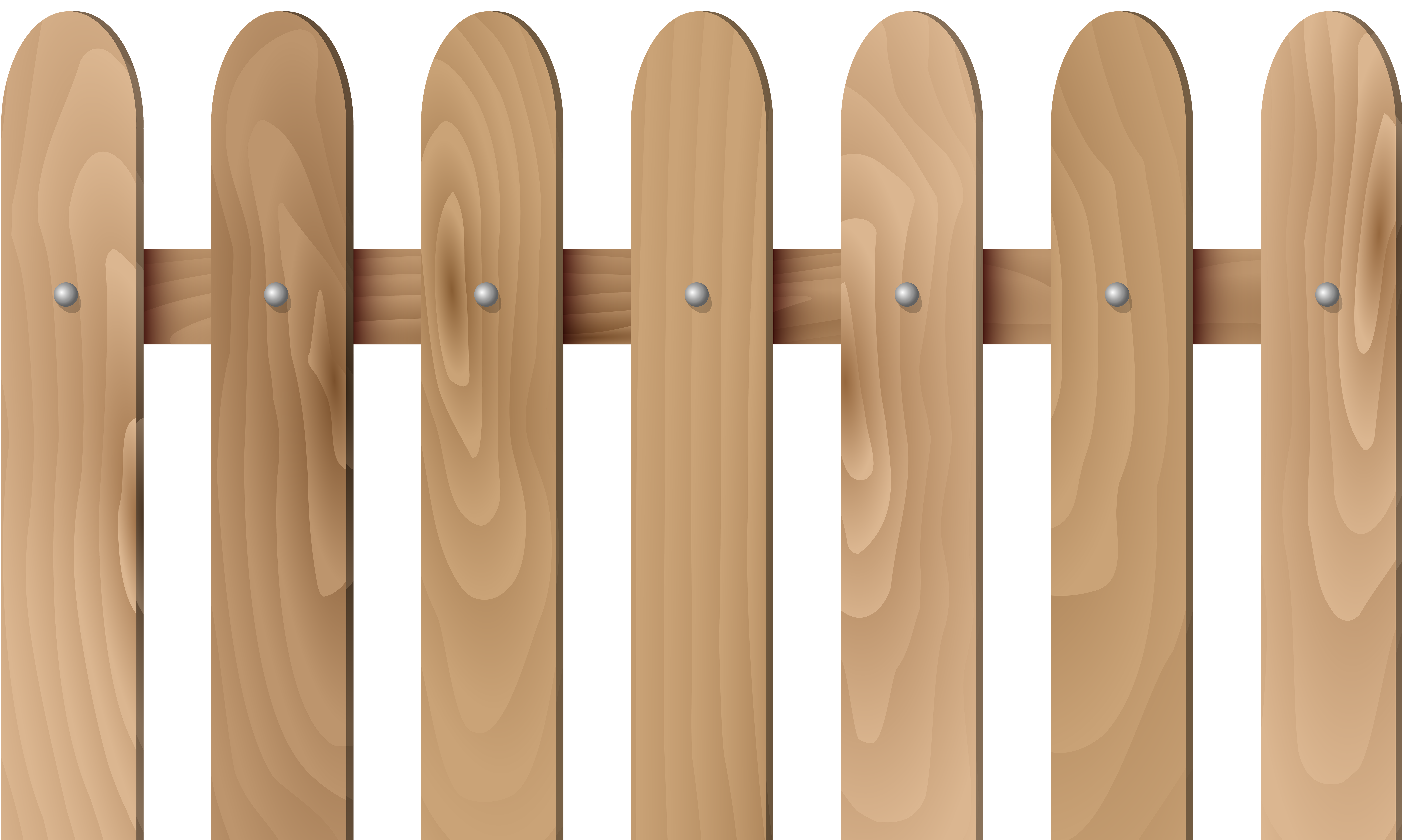 Halloween picket fence clipart png Wooden Fence Transparent PNG Clip Art | Gallery Yopriceville - High ... png
