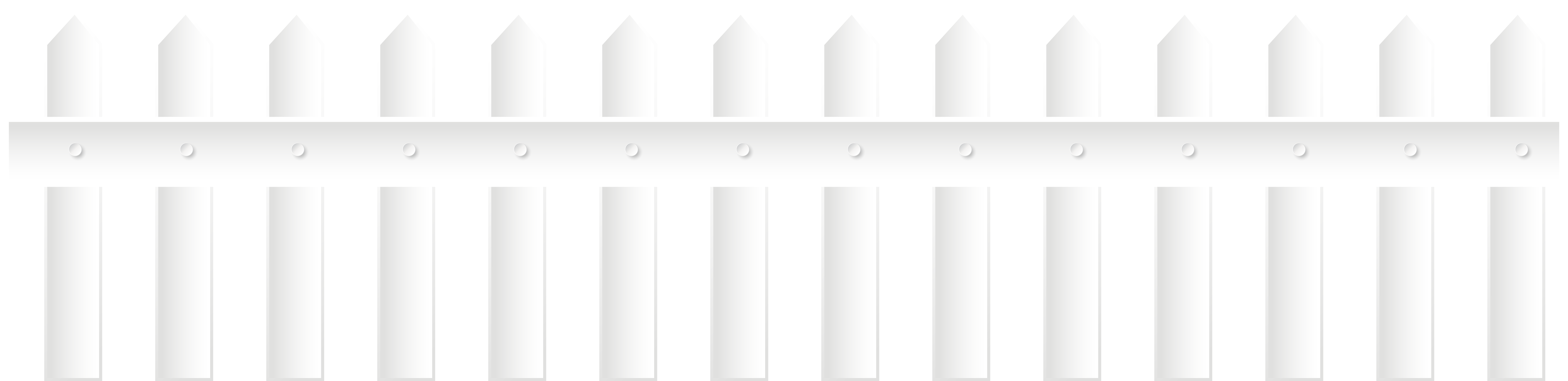 Halloween picket fence clipart clipart black and white Fence White PNG Clip Art | Gallery Yopriceville - High-Quality ... clipart black and white