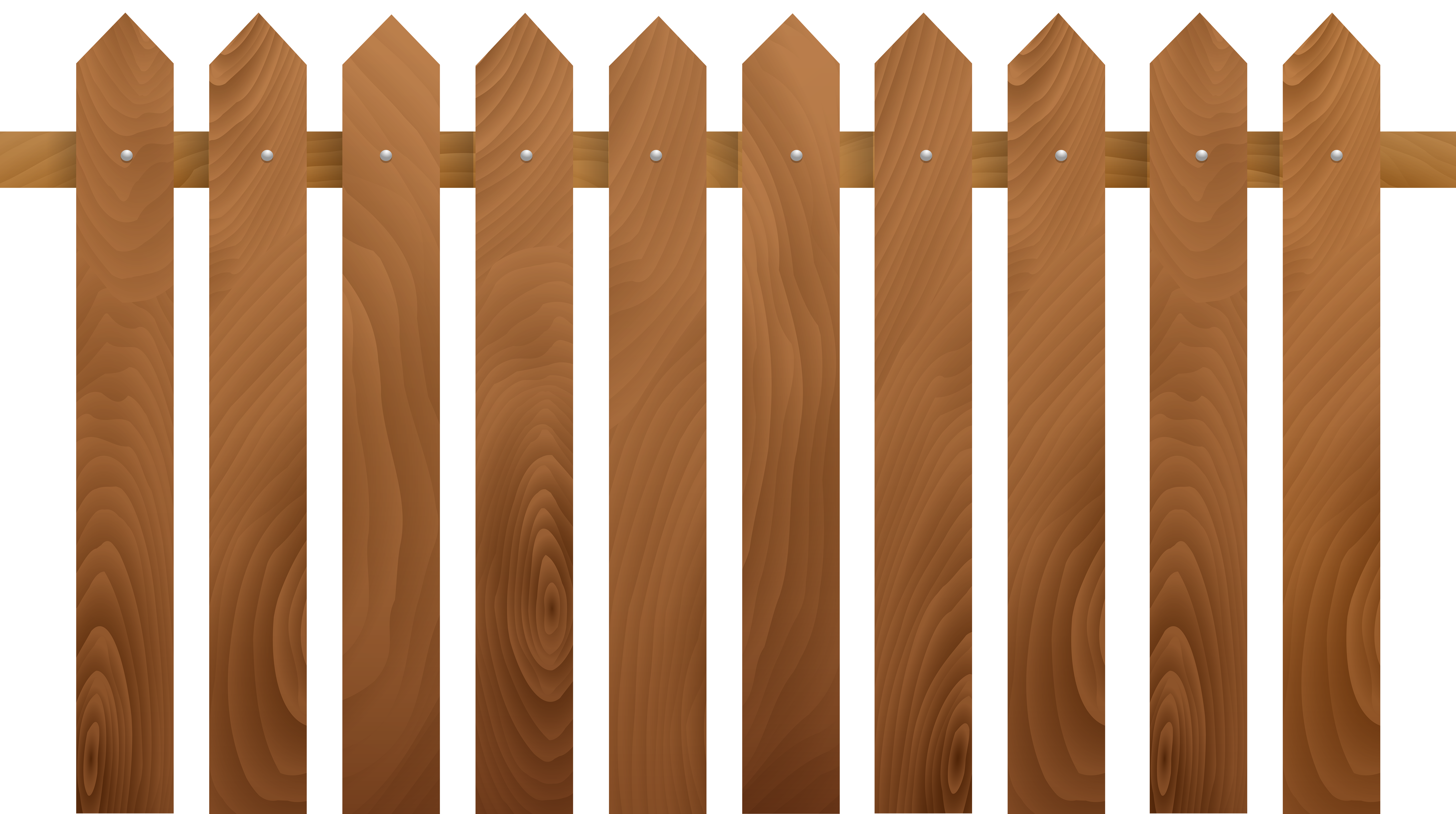 Halloween picket fence clipart clip art download Wooden Fence Transparent Clip Art PNG Image | Gallery Yopriceville ... clip art download