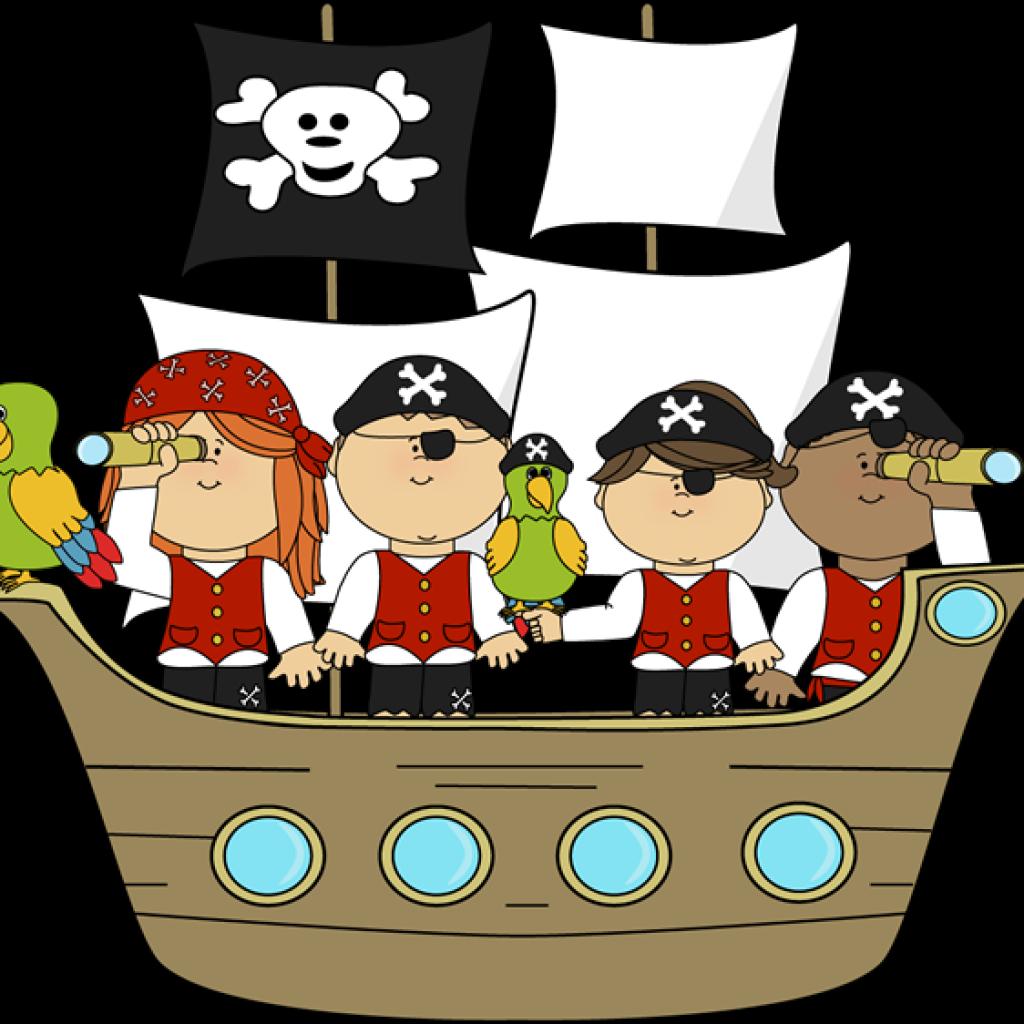 Pirate halloween clipart