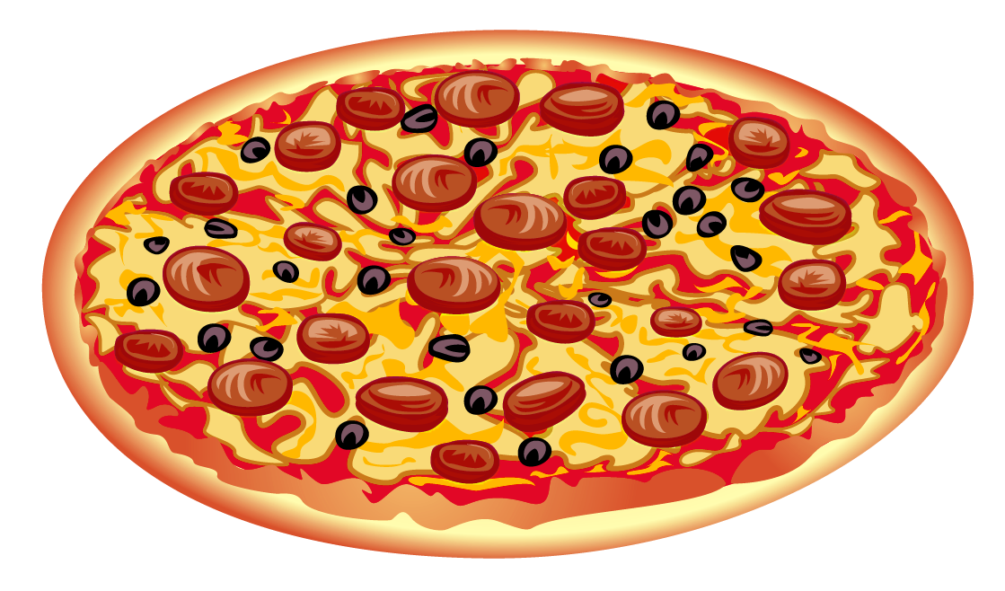 Heart pizza clipart clipart black and white stock Pizza PNG Clipart Image | Gallery Yopriceville - High-Quality ... clipart black and white stock