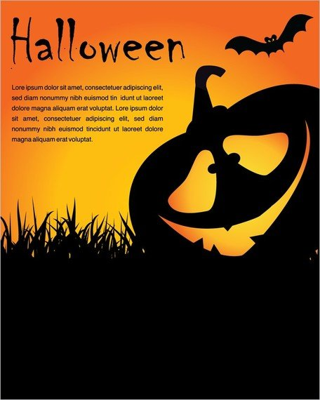 Halloween poster clipart picture library Free Halloween Posters Element Clipart and Vector Graphics - Clipart.me picture library