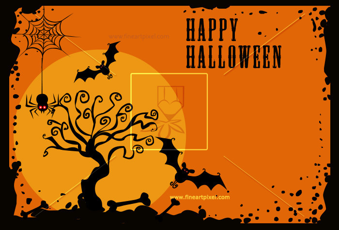 Halloween poster clipart svg library stock Halloween Poster | Free vectors, illustrations, graphics, clipart, PNG ... svg library stock