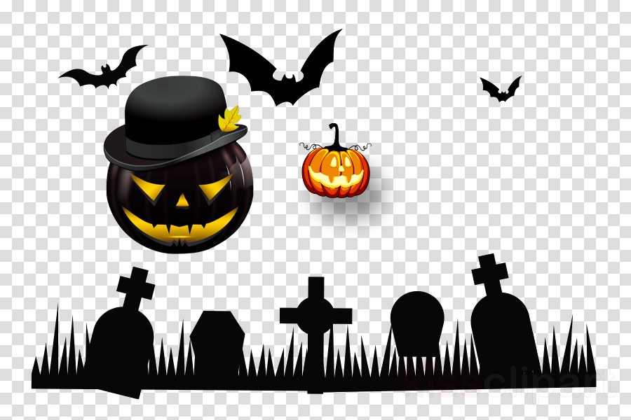 Halloween poster clipart picture library download Halloween Party Poster clipart - Halloween, Silhouette, Poster ... picture library download