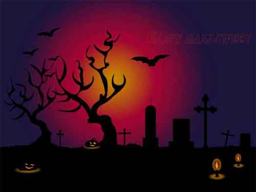 Halloween poster clipart black and white stock Free Halloween Clip Art Vectors for Scary Designs black and white stock