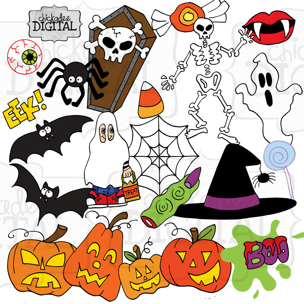 Halloween printable clipart clip freeuse download Halloween clipart printable - ClipartFest clip freeuse download