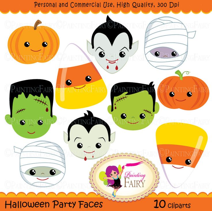 Halloween printable clipart svg free library Printable Halloween Clipart – Festival Collections svg free library