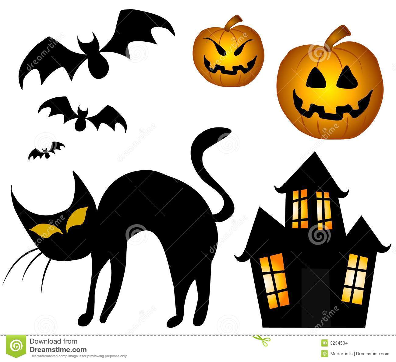 Halloween printable clipart jpg black and white download Halloween Clip Art Free Printable | Clipart Panda - Free Clipart ... jpg black and white download