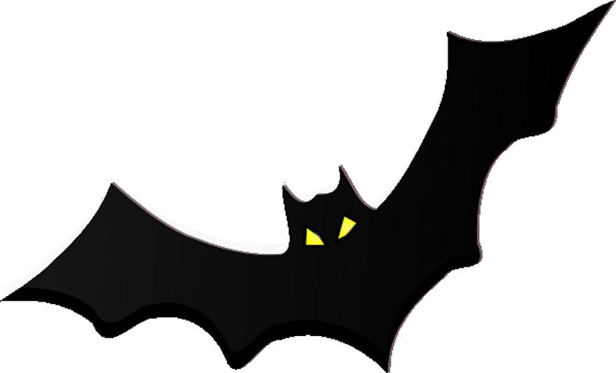 Halloween props clipart black and white stock Kisekae 2 Prop - Bat by Zebuta on DeviantArt black and white stock
