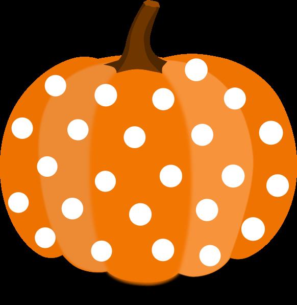 Pumpkin clipart svg graphic royalty free Pumpkin Dots Clip Art at Clker.com - vector clip art online, royalty ... graphic royalty free