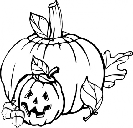 Kitchen fall clipart black and white svg library Free Black And White Pumpkin Clipart, Download Free Clip Art, Free ... svg library