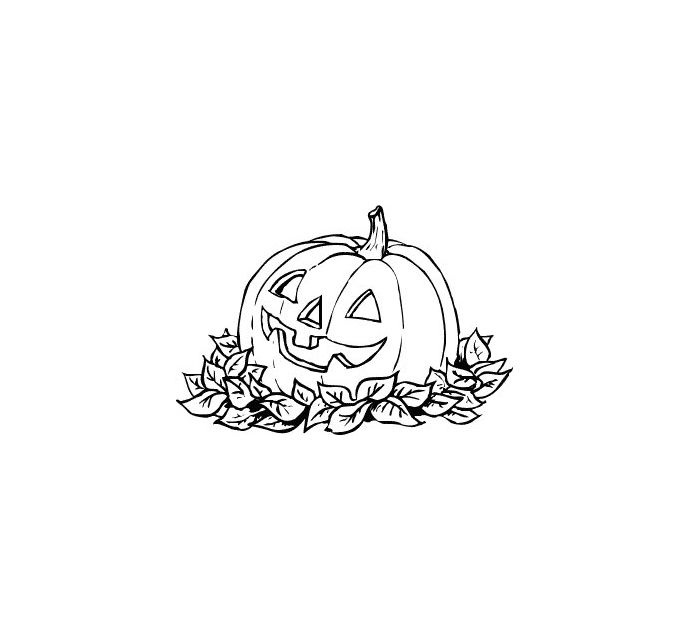 Halloween row of pumpkins clipart black and white royalty free library Free Pumpkin Clip Art and Images royalty free library