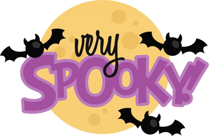 Halloween saying clipart png free stock Very Spooky! SVG scrapbook title halloween svg scrapbook title very ... png free stock