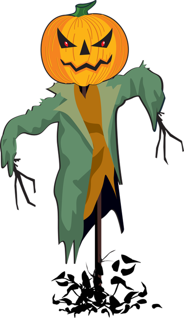 Halloween scarecrow clipart transparent Fall Scarecrow Clipart at GetDrawings.com | Free for personal use ... transparent