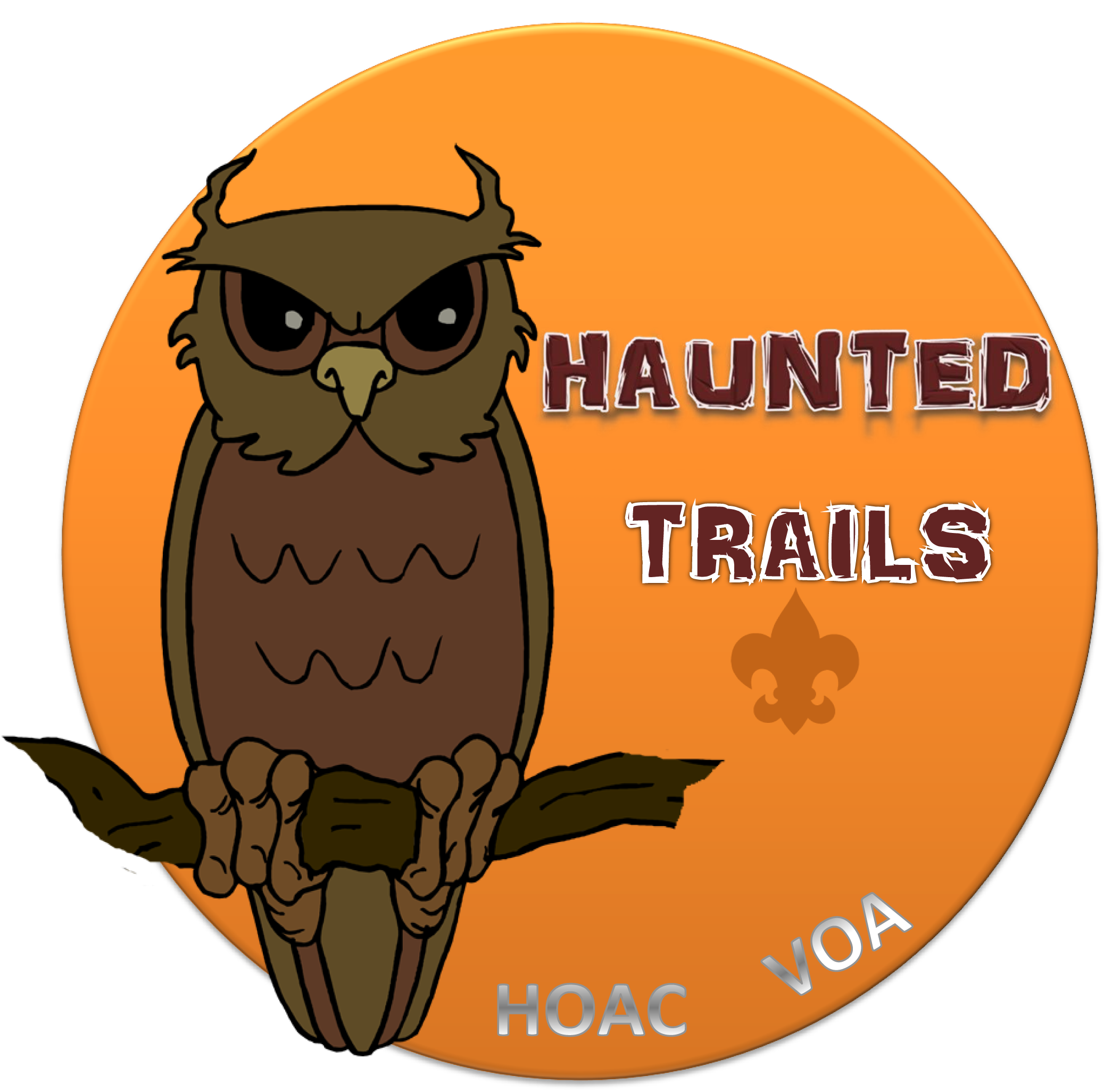 Halloween scout clipart black and white stock Haunted Trails — Heart of America Council — Boy Scouts of America black and white stock