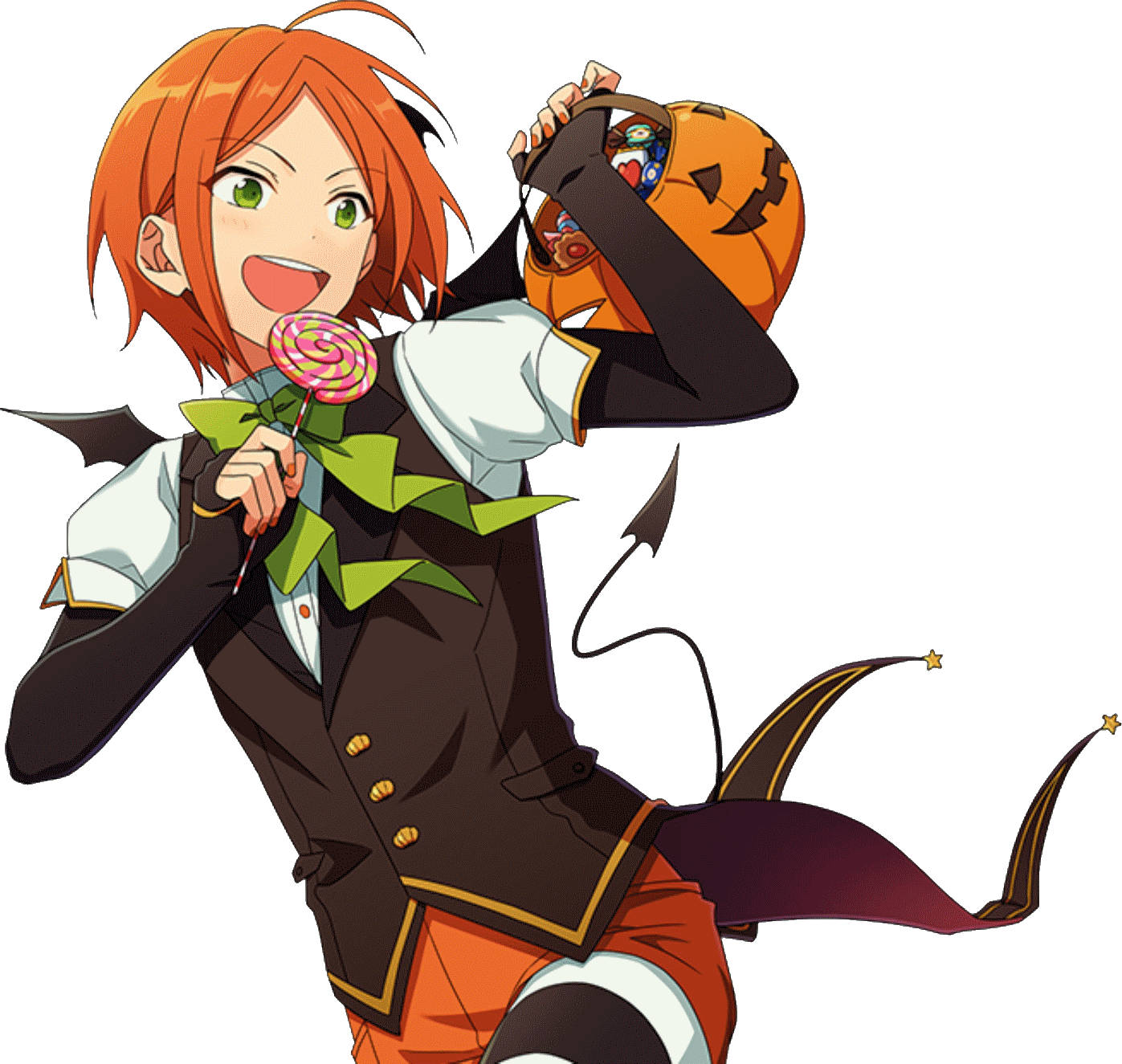 Halloween scout clipart clip art freeuse stock Image - Hinata Aoi Halloween Dialogue Render.png | The English ... clip art freeuse stock