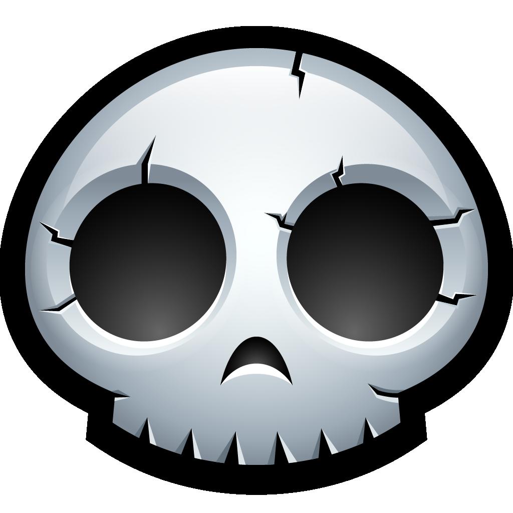 Halloween skull and crossbones clipart svg download Skeleton, 3d icon svg download