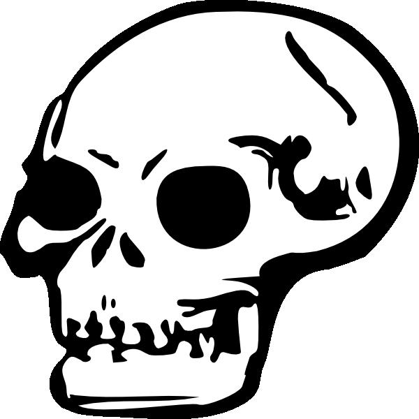 Halloween skeleton head clipart jpg freeuse stock Halloween Skeleton Head Clipart | Clipart Panda - Free Clipart Images jpg freeuse stock