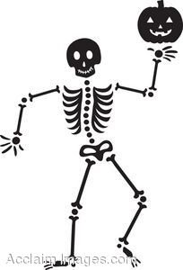 Halloween skeleton pictures clipart image free library Cute Halloween Skeleton Clip Art Halloween Skeleton Clip Art ... image free library