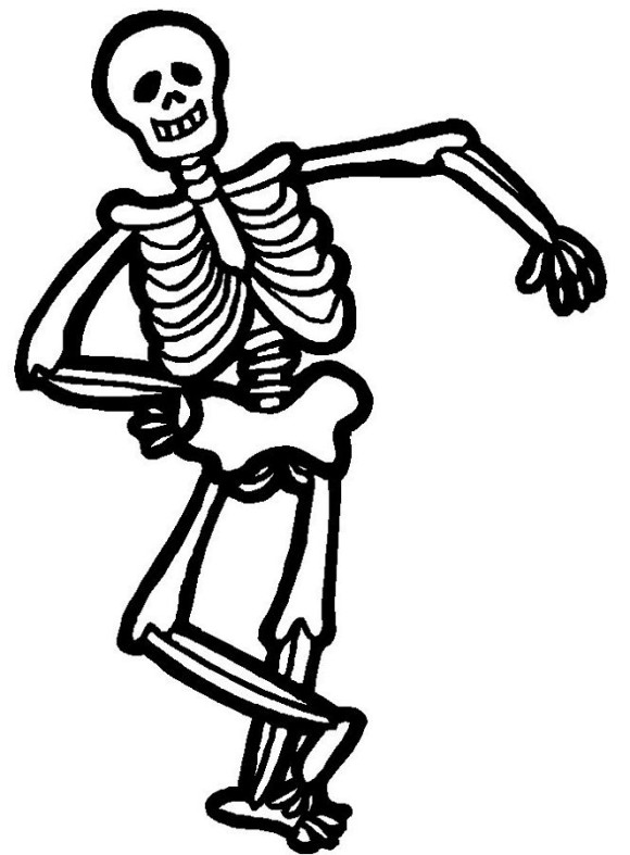 Halloween skeleton pictures clipart image free Free Cartoon Halloween Skeleton, Download Free Clip Art, Free Clip ... image free
