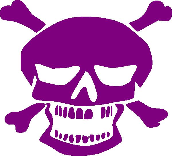 Halloween skull clipart svg transparent Purple Skull Clip Art at Clker.com - vector clip art online, royalty ... svg transparent