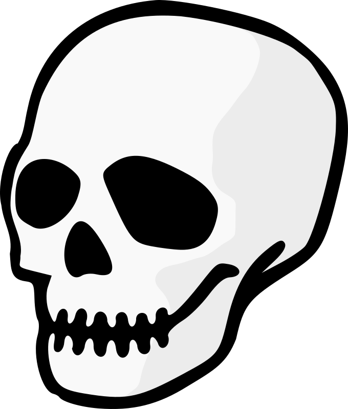 Halloween skulls clipart graphic royalty free Clipart - Skull graphic royalty free
